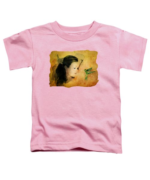 Close Encounter Toddler T-Shirt by Terry Fleckney