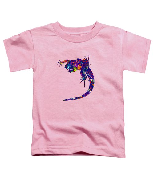 Colourful Lizard -2- Toddler T-Shirt by Bamalam  Photography