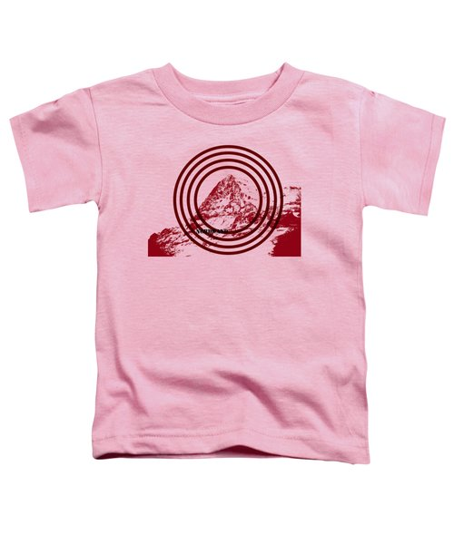Eiger Nordwand Toddler T-Shirt by Frank Tschakert