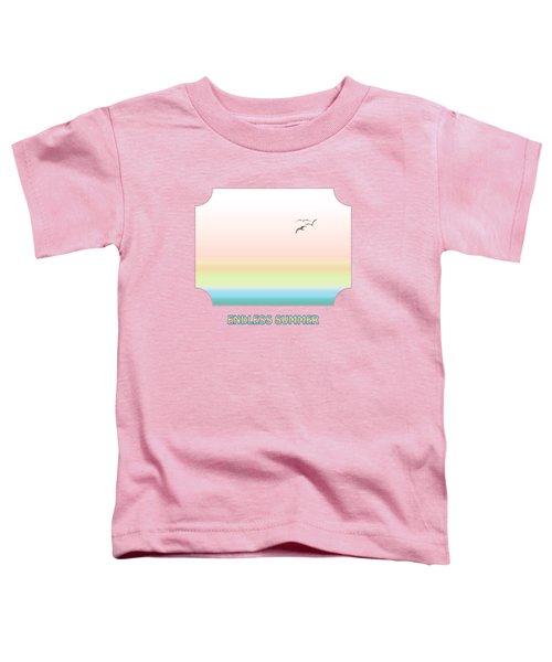 Endless Summer - Yellow Toddler T-Shirt by Gill Billington