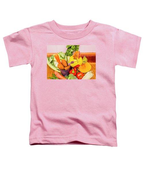 Farm Fresh Produce Toddler T-Shirt by Jorgo Photography - Wall Art Gallery