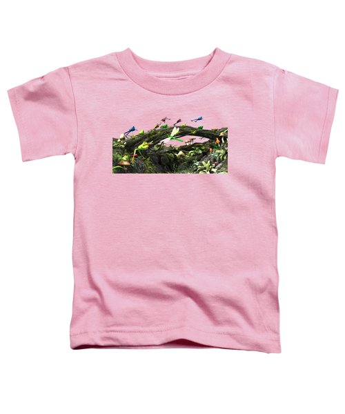 Frog Glen Toddler T-Shirt by Methune Hively