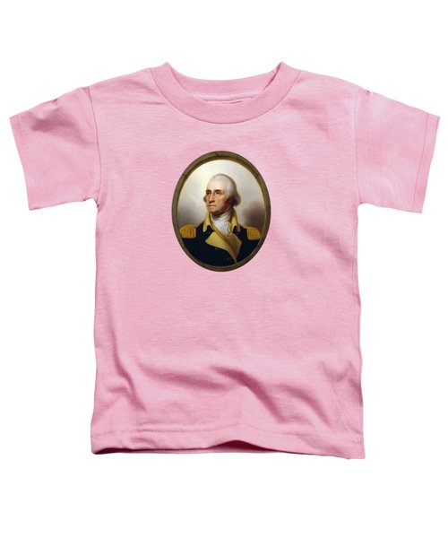 General Washington Toddler T-Shirt by War Is Hell Store
