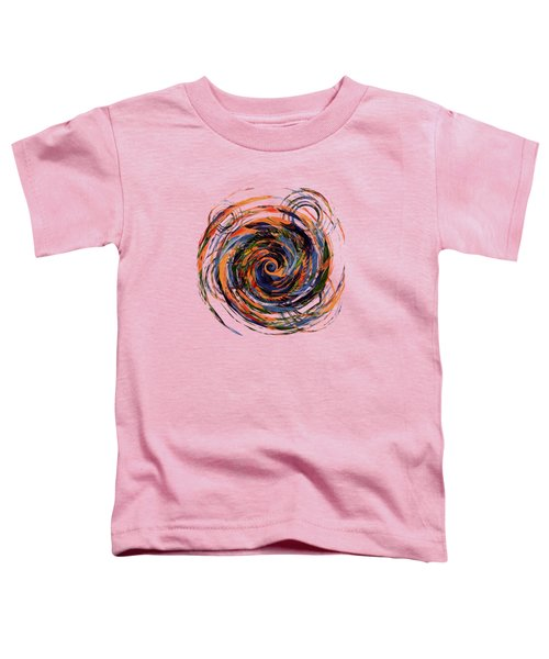Gravity In Color Toddler T-Shirt by Deborah Smith