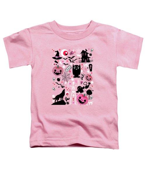 Halloween Night  Toddler T-Shirt by Mark Ashkenazi