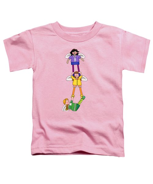 Hang In There Toddler T-Shirt by Sarah Batalka