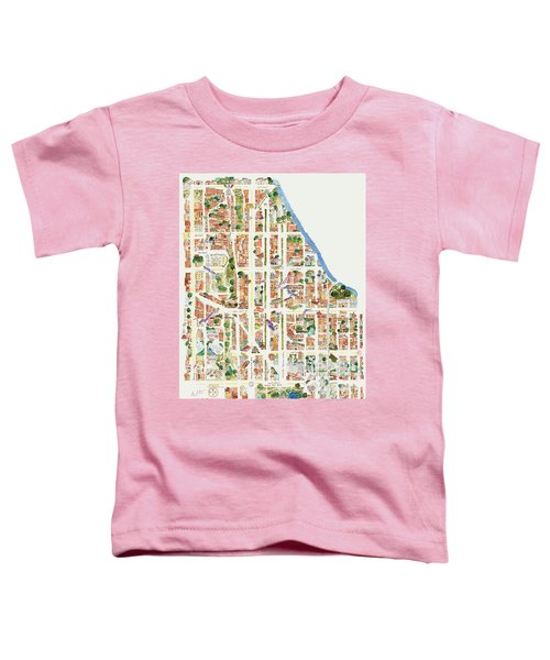 Harlem From 110-155th Streets Toddler T-Shirt by Afinelyne