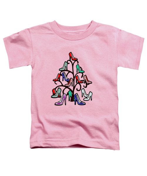 High Heels Tree Toddler T-Shirt by Anastasiya Malakhova