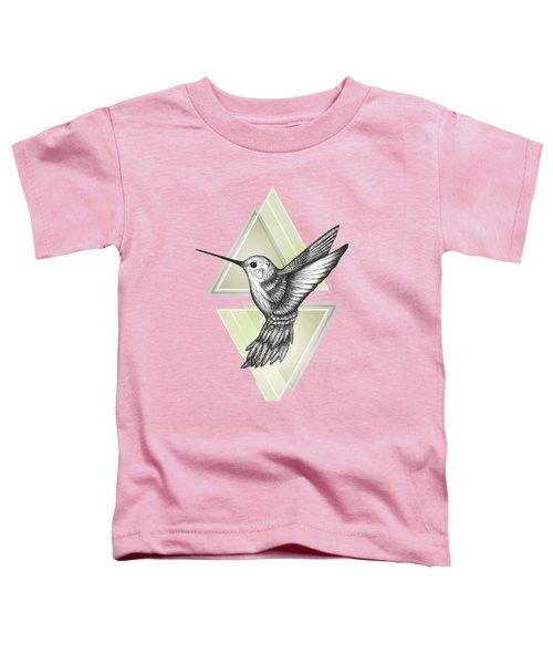 Hummingbird Toddler T-Shirt by Barlena