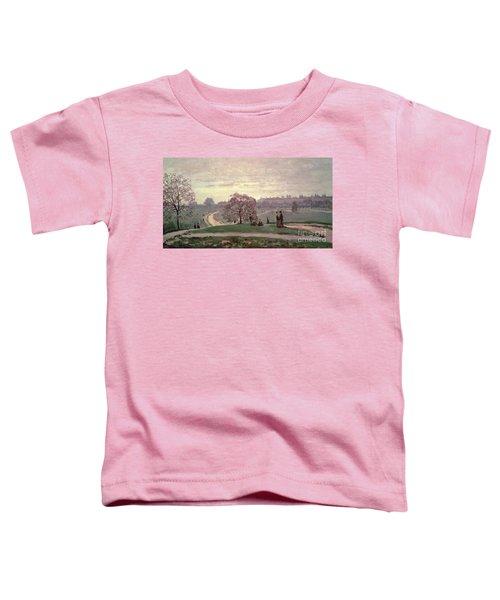 Hyde Park Toddler T-Shirt by Claude Monet
