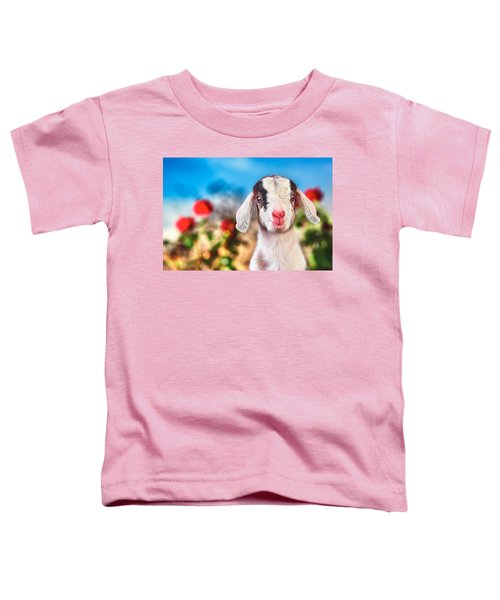 I'm In The Rose Garden Toddler T-Shirt by TC Morgan