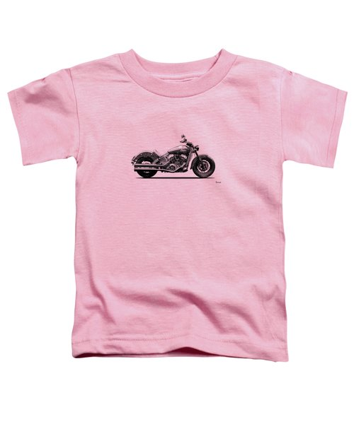Indian Scout 2015 Toddler T-Shirt by Mark Rogan