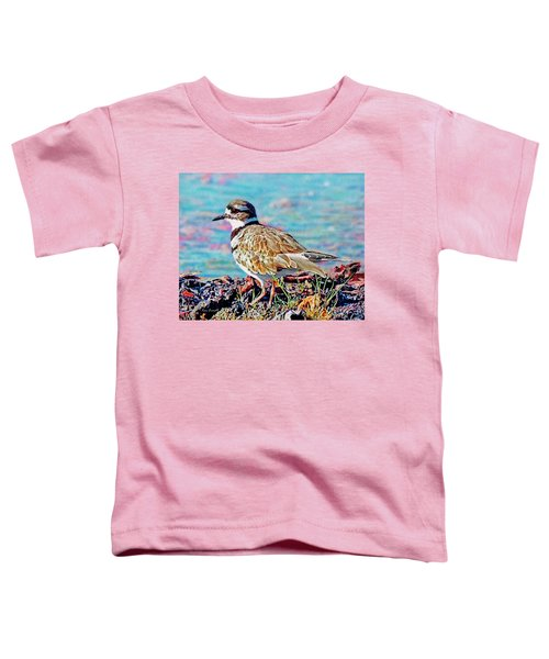 Killdeer  Toddler T-Shirt by Ken Everett