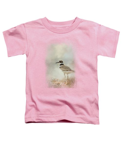Killdeer On The Rocks Toddler T-Shirt by Jai Johnson
