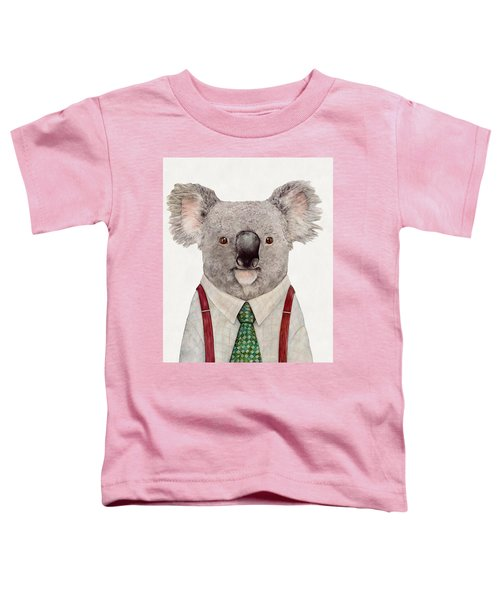 Koala Toddler T-Shirt by Animal Crew