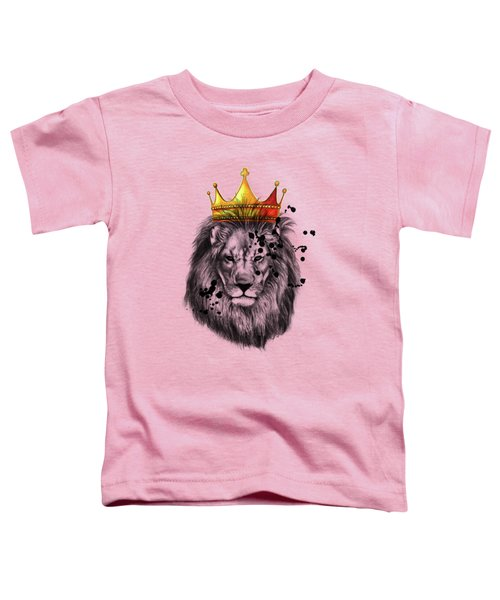 Lion King  Toddler T-Shirt by Mark Ashkenazi