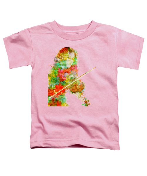 Music In My Soul Toddler T-Shirt by Nikki Smith