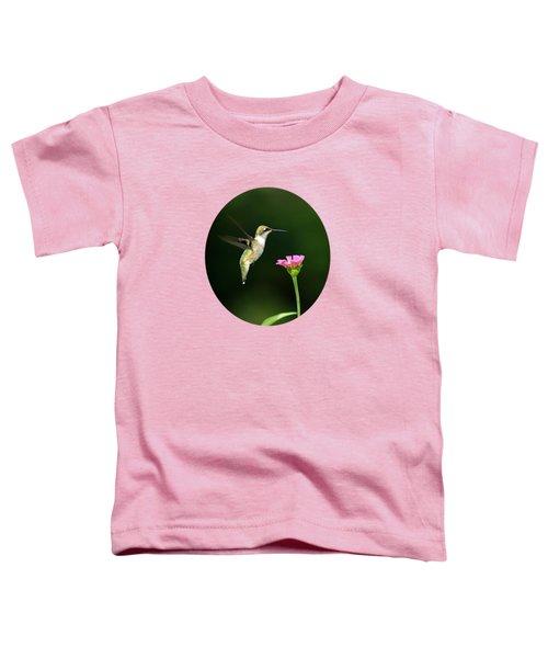 One Hummingbird Toddler T-Shirt by Christina Rollo