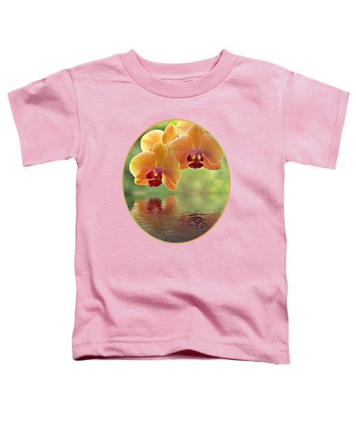 Oriental Spa - Square Toddler T-Shirt by Gill Billington