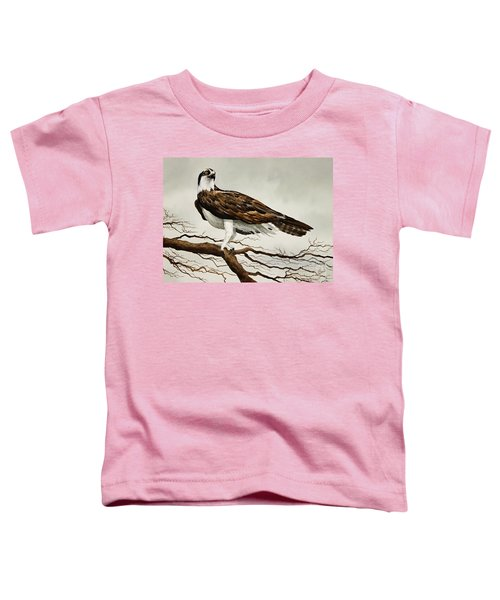 Osprey Sea Hawk Toddler T-Shirt by James Williamson