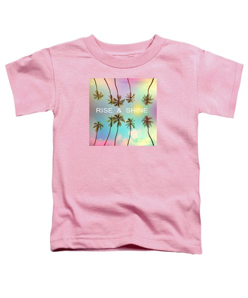 Palm Trees Toddler T-Shirt by Mark Ashkenazi