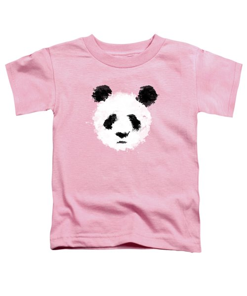 Panda Toddler T-Shirt by Mark Rogan