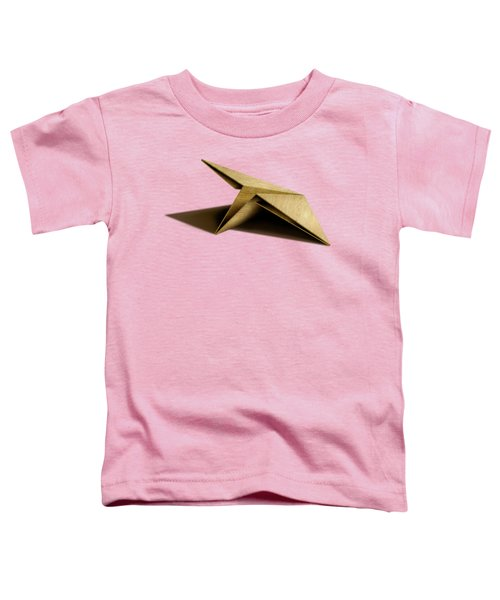 Paper Airplanes Of Wood 7 Toddler T-Shirt by YoPedro