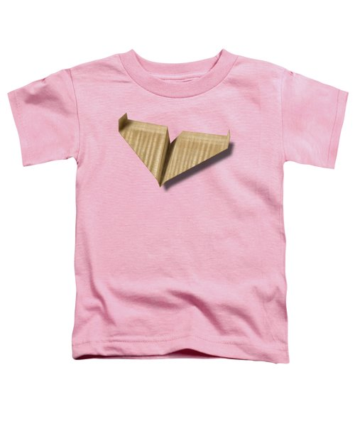 Paper Airplanes Of Wood 8 Toddler T-Shirt by YoPedro