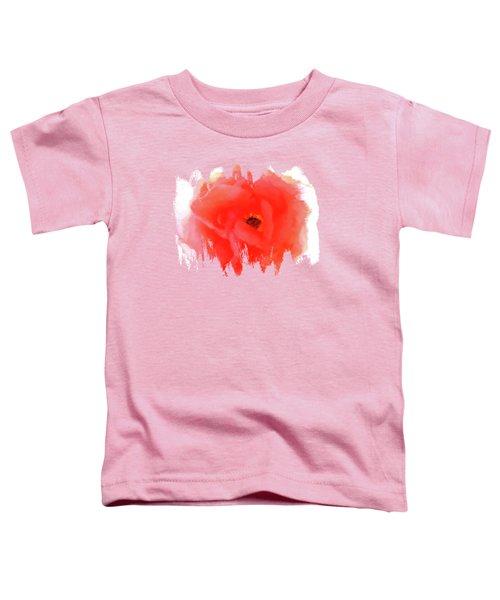 Peachy Keen Toddler T-Shirt by Anita Faye