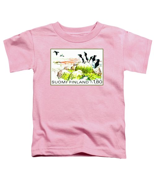 Razorbills Toddler T-Shirt by Lanjee Chee