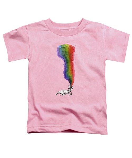 Rex Toddler T-Shirt by Kelly Jade King