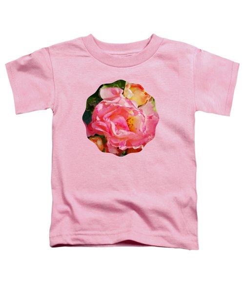 Roses Toddler T-Shirt by Anita Faye