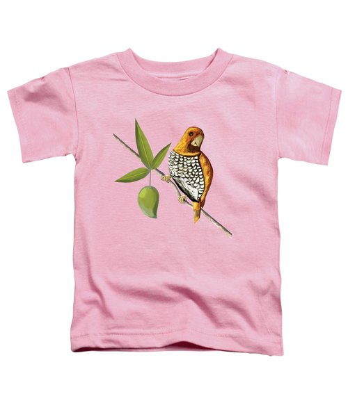 Scaly Breasted Munia D Toddler T-Shirt by Thecla Correya