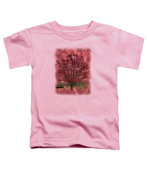 Seeing Red 2 Toddler T-Shirt by John M Bailey