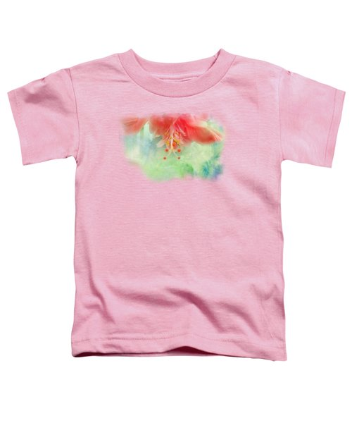 Softly Colored 1 Toddler T-Shirt by Judy Hall-Folde