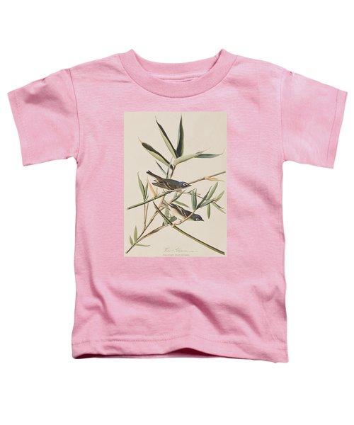 Solitary Flycatcher Or Vireo Toddler T-Shirt by John James Audubon