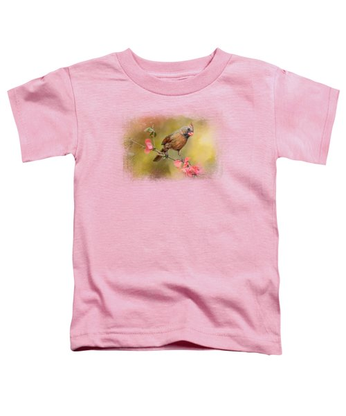 Spring Cardinal 1 Toddler T-Shirt by Jai Johnson