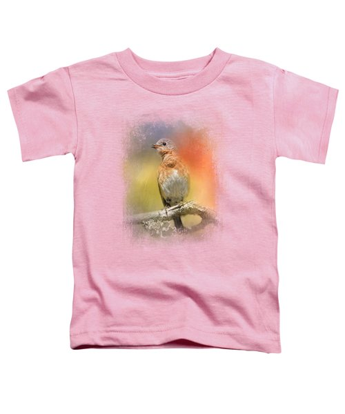 Spring Song Toddler T-Shirt by Jai Johnson