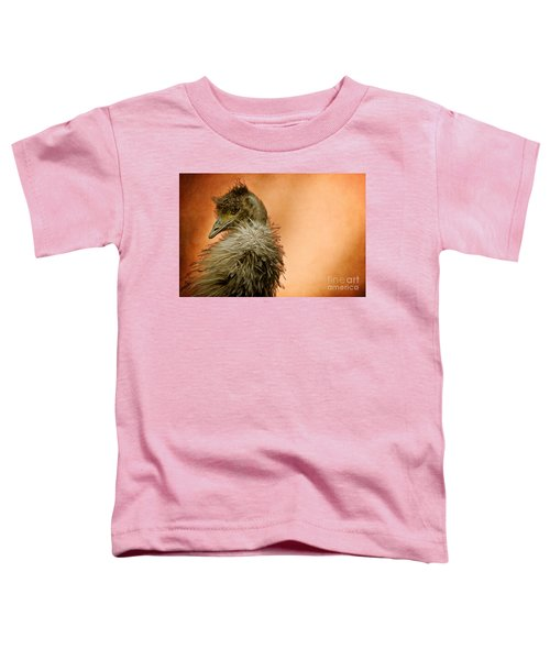 That Shy Come-hither Stare Toddler T-Shirt by Lois Bryan