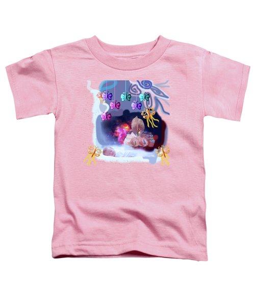 The Real Little Baby Dream Toddler T-Shirt by Artist Nandika  Dutt