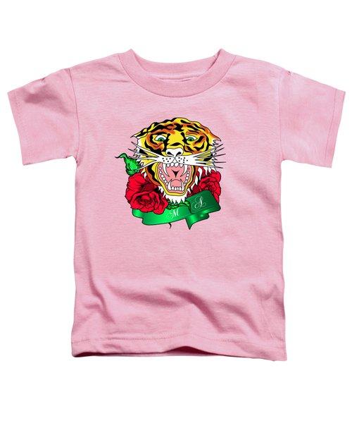 Tiger L Toddler T-Shirt by Mark Ashkenazi