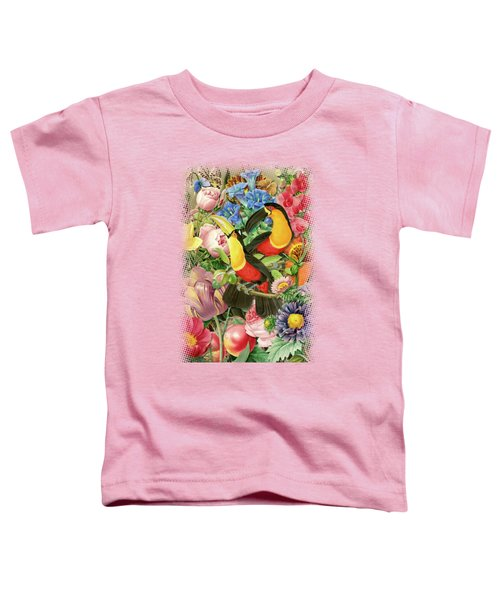 Toucans Toddler T-Shirt by Gary Grayson
