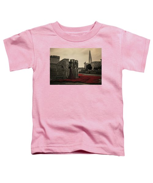 Tower Of London Toddler T-Shirt by Martin Newman