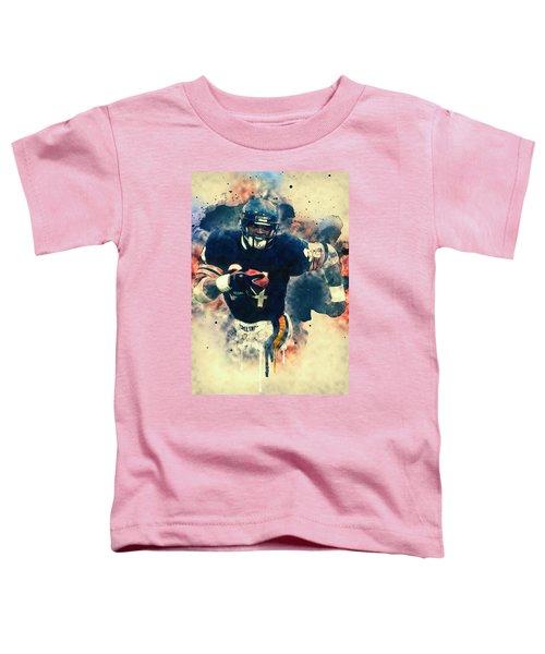 Walter Payton Toddler T-Shirt by Taylan Soyturk