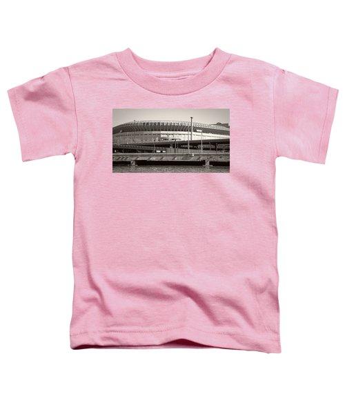 Yankee Stadium    1923  -  2008 Toddler T-Shirt by Daniel Hagerman