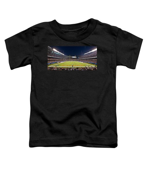 0587 Soldier Field Chicago Toddler T-Shirt by Steve Sturgill