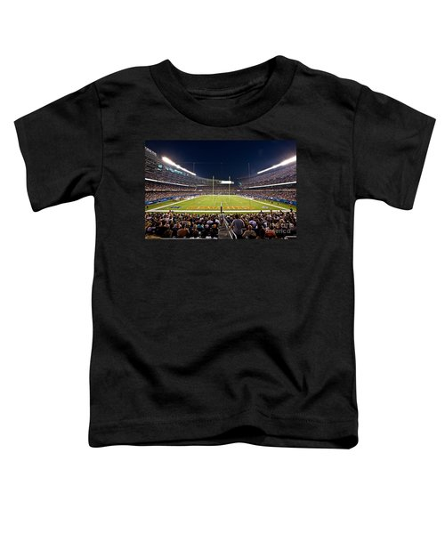 0588 Soldier Field Chicago Toddler T-Shirt by Steve Sturgill
