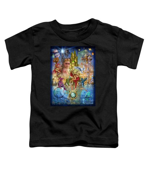 Fantasy Island Toddler T-Shirt by Ciro Marchetti