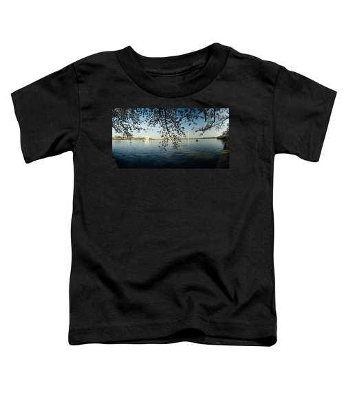 Monument At The Waterfront, Jefferson Toddler T-Shirt by Panoramic Images