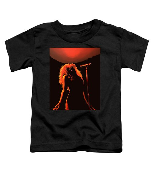 Shakira Toddler T-Shirt by Paul Meijering